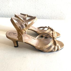 Soft style by hush puppies ankle strap cork heels
